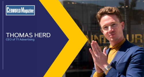 CEO Spotlight: The Advent Of Quantifiable Digital Marketing -Thomas Herd's T1 Advertising
