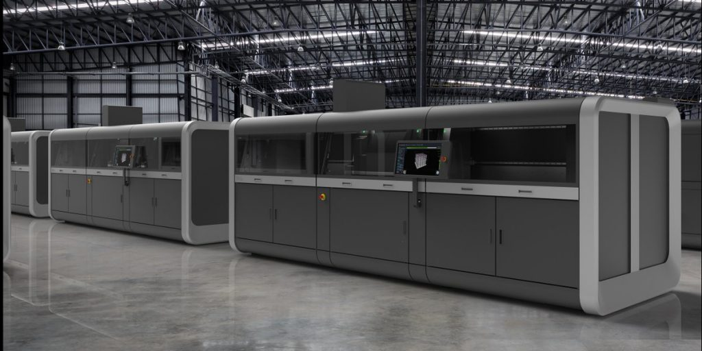 A Production System manufacturing facility. Photo via Desktop Metal.