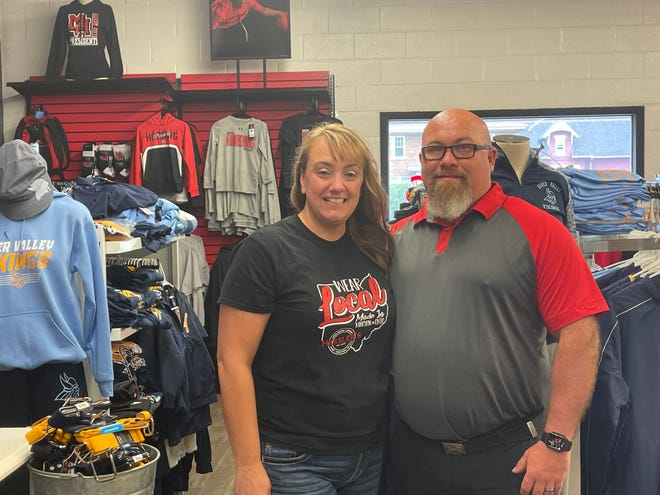 Starting from humble beginnings from their basement of their homes, Kim and James Hessler have been screen printing merchandise since 2010. Since then, they've moved to their current location on 278 E. Church St. in Marion.