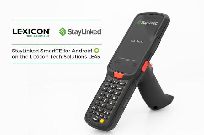 StayLinked SmartTE for Android on the Lexicon Tech Solutions LE45