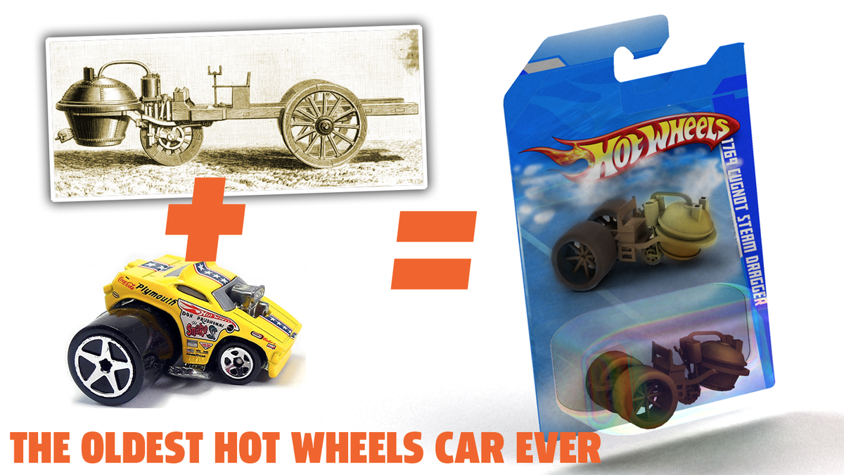 This Is What A Hot Wheels Of The First Car Ever Built Would Be Like
