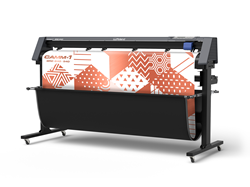 The newly launched Roland DG CAMM-1 GR2-640 large-format vinyl cutter.