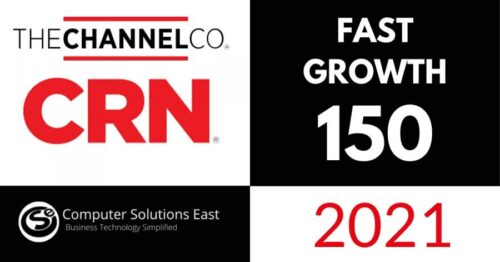 Computer Solutions East Featured in CRN 2021 Fast Growth 150 Rankings