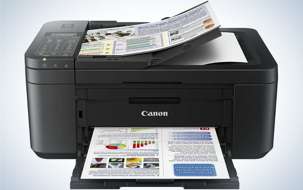 The Canon PIXMA TR4520 is the best Canon printer on a budget.