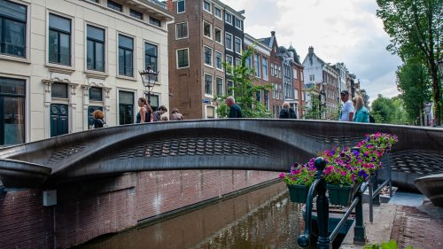 First 3D Printed Footbridge In Amsterdam Revealed To The Public : NPR