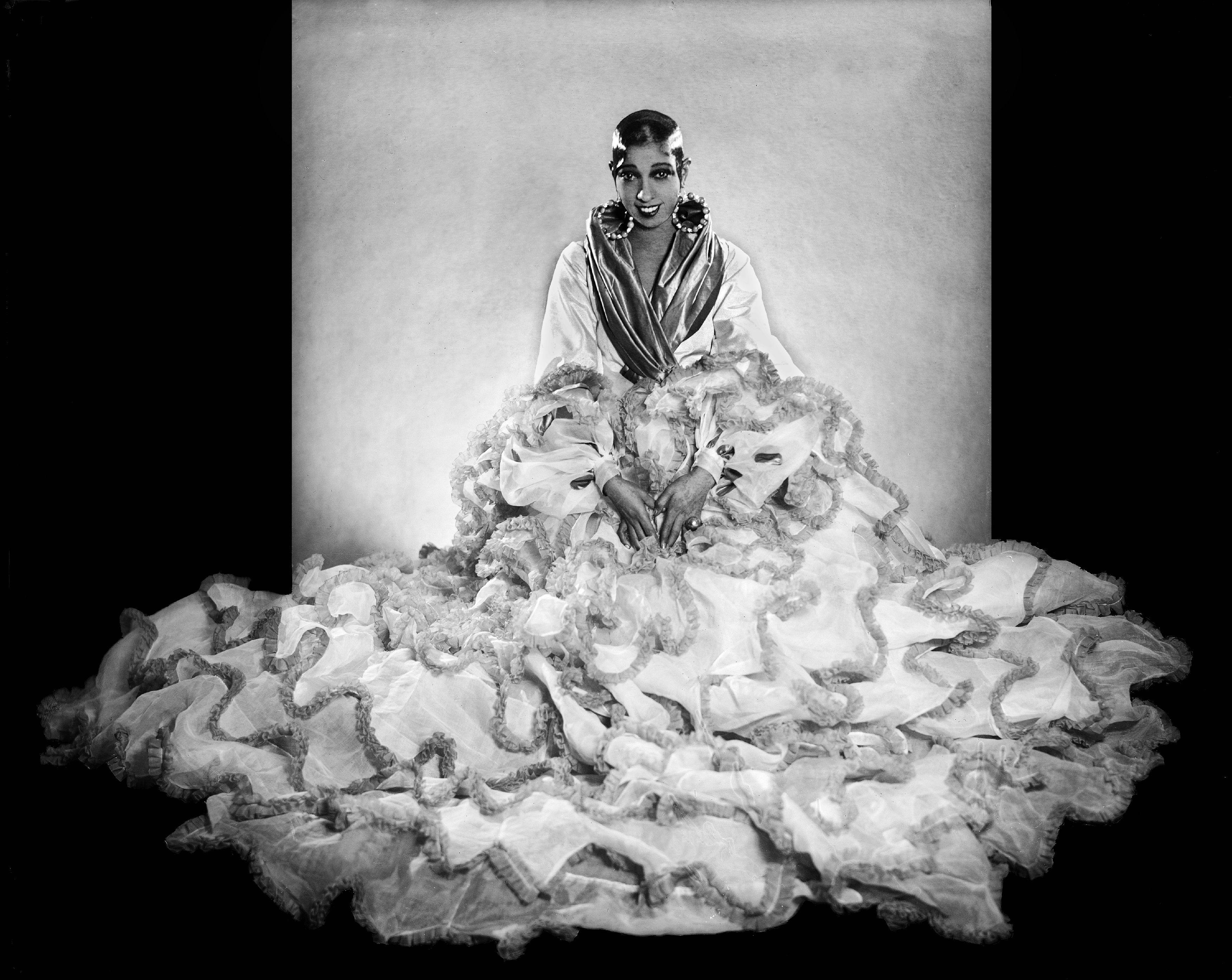 Josephine Baker And Her Flounced Dress