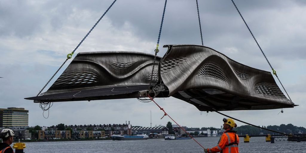 First 3D-Printed Steel Bridge | 3D-Printed Bridge Netherlands