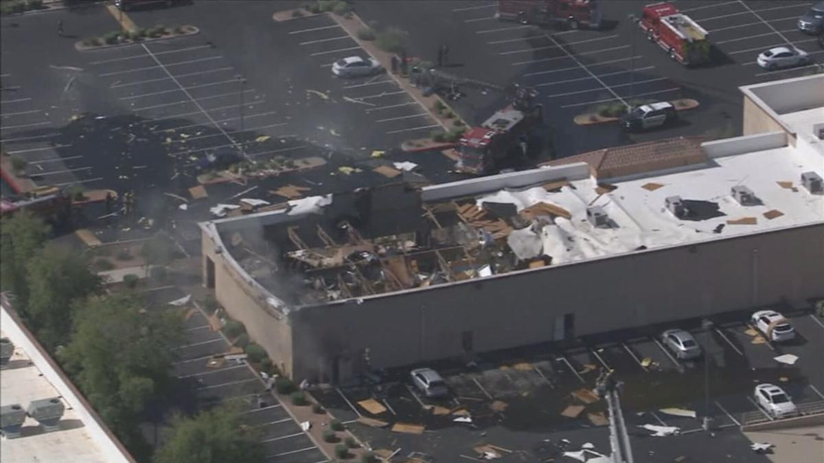 Chandler building collapse