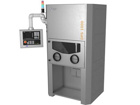 Digital Metal's new DPS 1000 depowdering system.