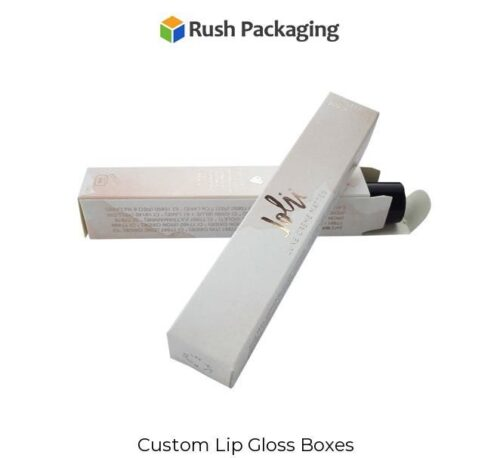 Get Custom Lip Gloss Packaging Boxes with stylish printing