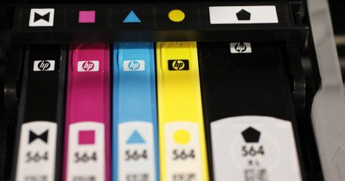 How to deal with drying printer ink