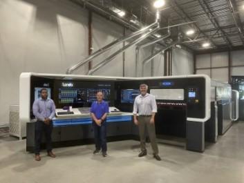 Duggal acquired digital press from Landa Digital Printing.