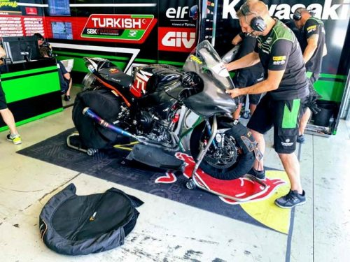Kawasaki Puccetti Racing takes pole position using 3D printing and scanning technology