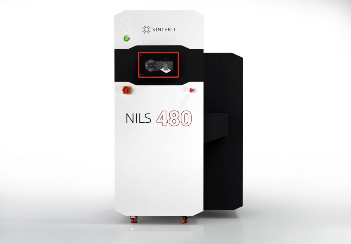 Sinterit enters industrial market with new 'NILS 480' 3D printer