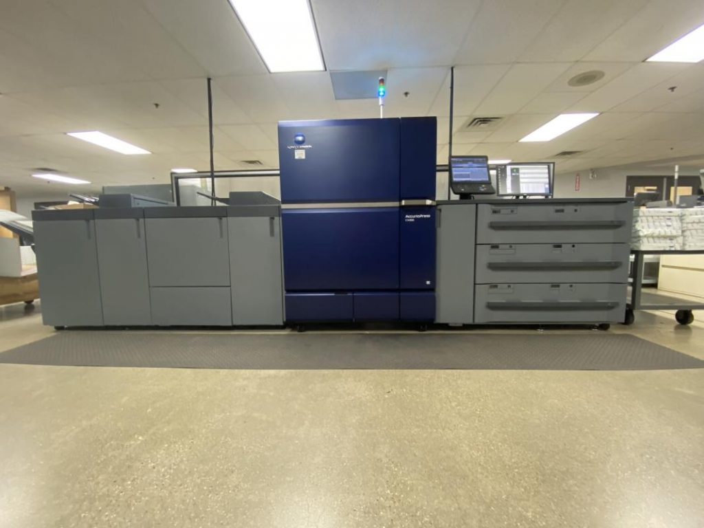 Konica Minolta's AccurioPress C14000 Installed at OneTouchPoint