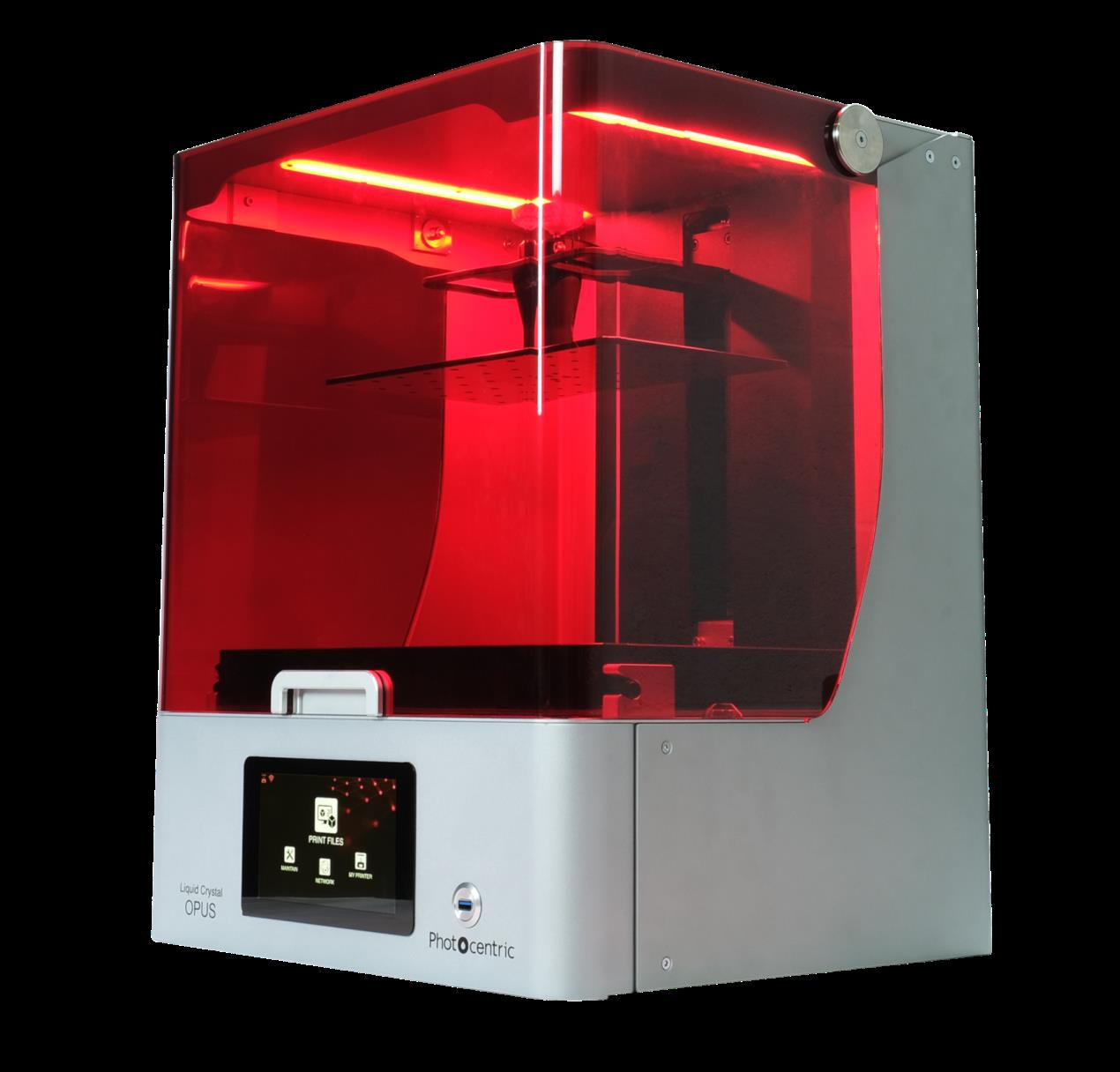 The LC Opus desktop 3D printer. Photo via Photocentric.